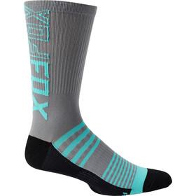 """Fox 8"""" Ranger Socks Men, gris"""